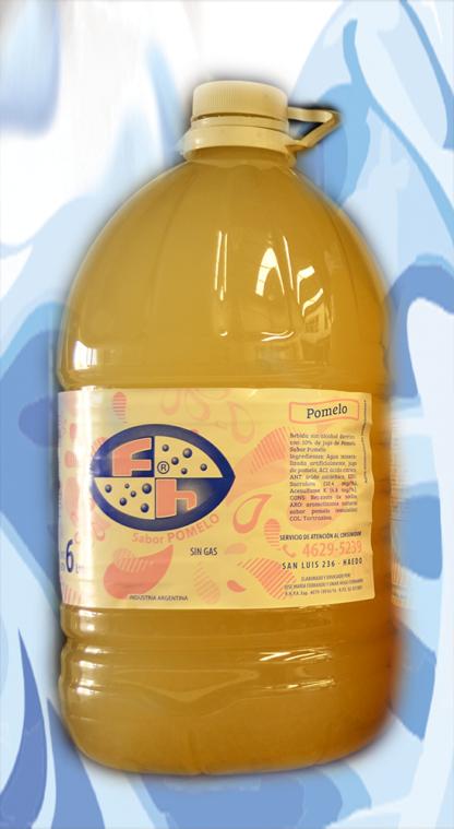 agua Saborizada Pomelo 6 litros