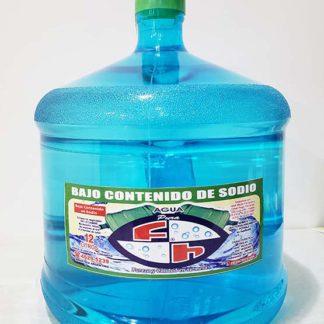 agua retornable bajo sodio 12 litros